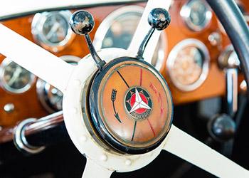 Lenkrad Oldtimerbus-Mercedes-Benz