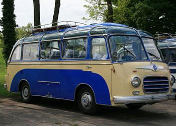 Oldtimer Kleinbus Fuhrpark uebersicht