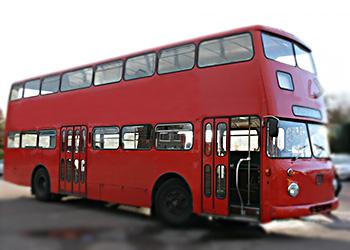 Historischer Doppeldeckerbus
