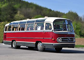 Mercedes-Benz-Oldtimervermietung