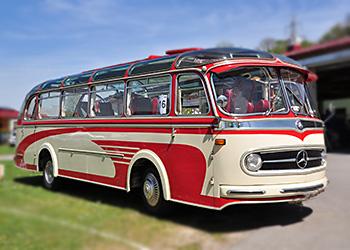 Mercedes-Bus-Historisch