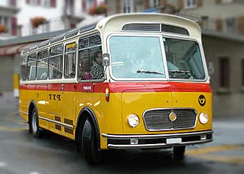 Schweizer-Postbus