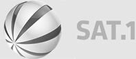 sat1 Logo mit bus